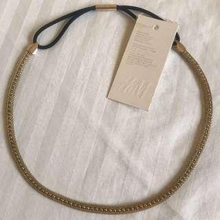 H&M Gold Head Band