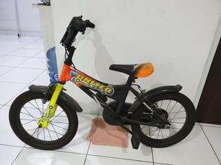 Sepeda united 12 bmx robo bekas