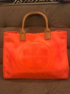Limited edition tory burch tote bag