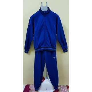 Adidas Trefoil Classic Blue Track Suit, S. (Original)