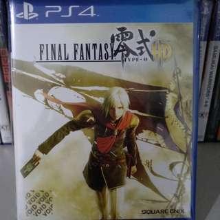 PS4 - Final Fantasy Type-0 HD