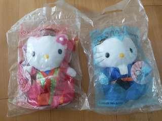 Hello Kitty Mcdonalds 韓國結婚公仔