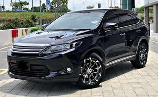 SAMBUNG BAYAR/CONTINUE LOAN  TOYOTA HARRIER 2.0 AUTO YEAR 2014/2016 MONTHLY RM 2200 BALANCE 6 YEARS 7 MONTHS ROADTAX MAY 2019 MILEAGE LOW ELECTRONIC LEATHER SEAT PUSH START BUTTON NEW TYRE AND RIMS TIPTOP CONDITION  DP KLIK wasap.my/60133524312/harriernew