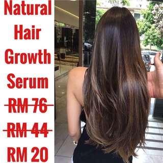 Organic Natural hair & eyelashes growth serum #3x100 #paywithboost #under90