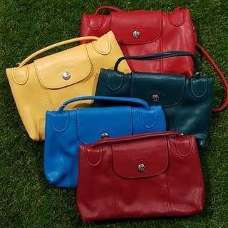 LC Cuir Mini Sling Bag