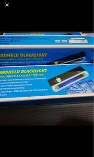 Handheld uv light