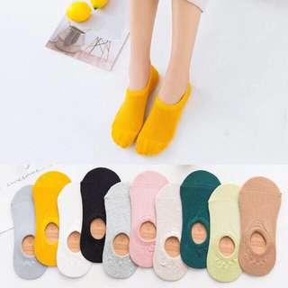 Foot Socks w/ Silicone