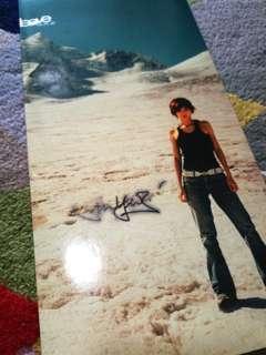 Sun yanzi stefanie signed autograph single 孙燕姿签名leave