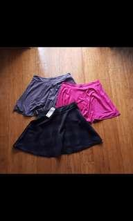 Skirts, Jeans, Athletic shorts M-L