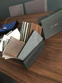 EDL compact sample tiles