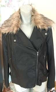 NWT Forever 21 Plus Faux Leather Jacket Size 0X (XL)