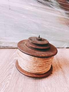 Antique Wooden Spool