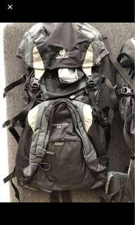 Deuter travel backpack - excellent condition