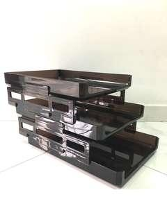 3-Tier Movable In Out Trays