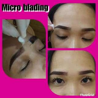 6D Microblading with shading