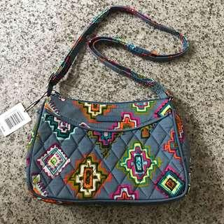BNWT Vera Bradley little crossbody bag painted medallions
