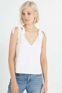 Preloved Cotton On Tina tie tank top