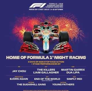 F1 zone 4 walkabout ticket