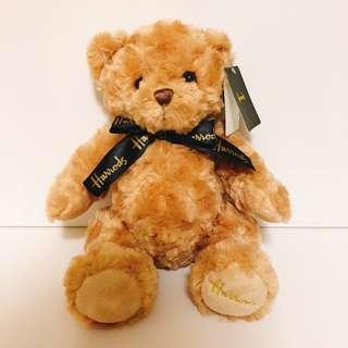 🚚 🇬🇧英國帶回 Harrods  英國百年品牌 泰迪熊 經典色泰迪熊絕對收藏品