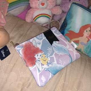 含運 日本 迪士尼 小美人魚 愛麗兒 收納包 化妝包