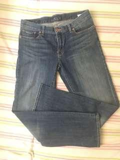 Size 30 straight cut jeans