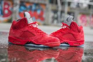 WTS/WTT: Jordan 5 retro Red Suede
