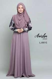 Jubah Anisha Lova Style