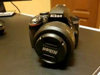 Nikon D3300 and whole set of equipment