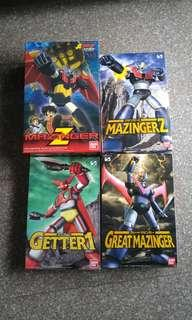 Mechanic Collection kit (Mazinger & Getter)