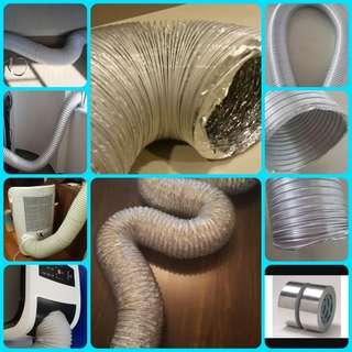Portable/Aircon/Aluminium/dryer/hose/cooker/hood/tubing/flexible/ducting/exhaust/vent/pipe/Trends/trentios/honeywell/europace/akira/TCL/techno/sona/LG/electrolux/bosch/fisher&Paykel/PLASTIC/trunking/Aluminum/冷气/铝/管/风/ventilation/便携式空调/bree/miner/antminer