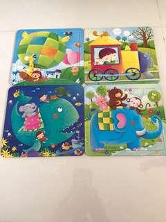 Preloved Children/Kids Cardboard Puzzle