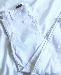 AE White Stretchable Jeans US 12