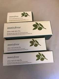 Innisfree Olive 系列 敏感乾燥肌膚救星 可散買