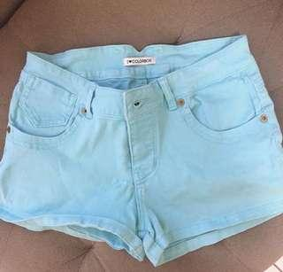 Colorbox blue shorts