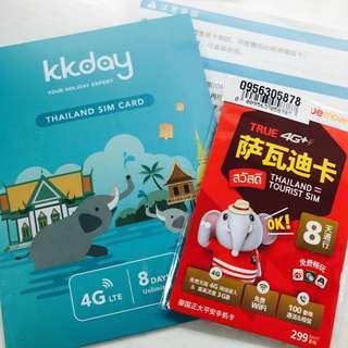 轉售kkday泰國sim卡