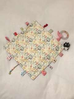 🚚 歡樂鳥寶寶安撫巾 手作 韓國棉布