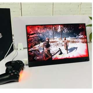 (3個月保用)(現貨) 全新 13.3 13吋 4K HDR UHD 超高清 手提 電競遊戲屏幕 Monitor e-Sport 可駁流動充電器 尿袋供電 e-Sport