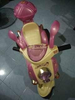 Motosikal berenjin kanak-kanak