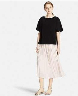 UNIQLO PLEAT SKIRT