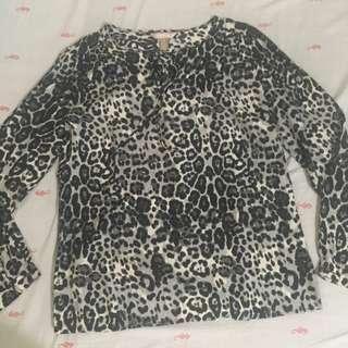 Long sleeved blouse