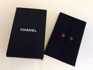 Chanel suede notepad 絨面記書薄