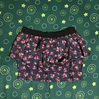 Candie's Peplum Skirt