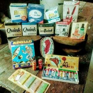 Old Stationaries For Display