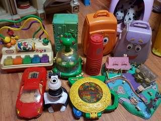 Repriced toys