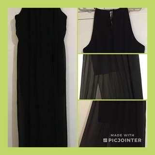 Forever 21 Black Long Dress