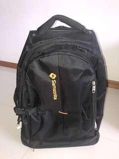Lg Samsonite rolling backpack