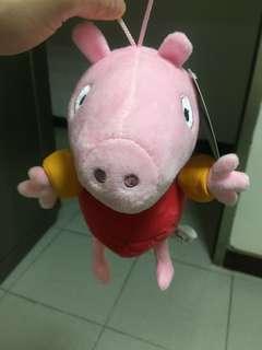 🚚 全新 含吊牌 佩佩豬 娃娃
