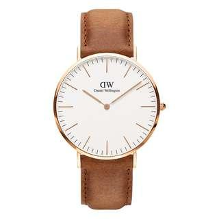 BNIB Daniel Wellington Durham 40mm Watch