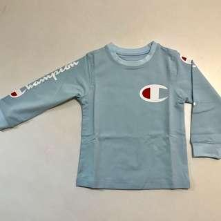Brand new champion long sleeves top tee size 80