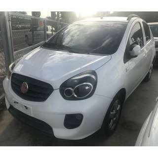 2012年 Tobe 酷比 W'car  1.5熊貓系白色小轎車 代步停車好方便